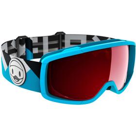 Flaxta Candy Goggles Jongeren, blauw/rood